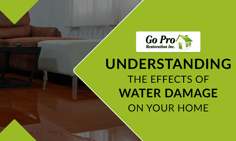 Effects of Water Damage on Your Home