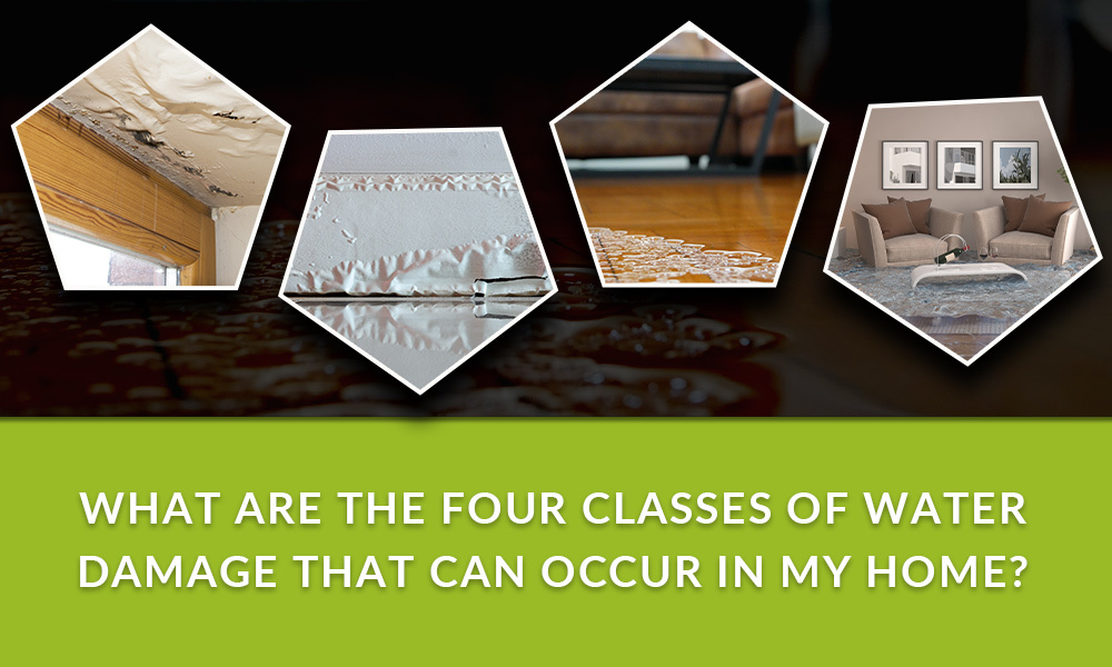 four classes of water damage